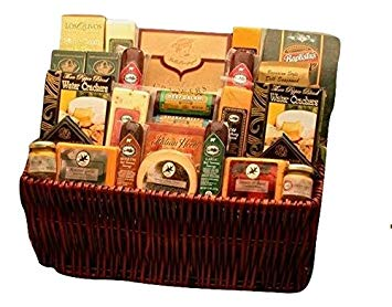 The Gift Basket Gallery's Ultimate Gourmet Meat and Cheese Gift Baske