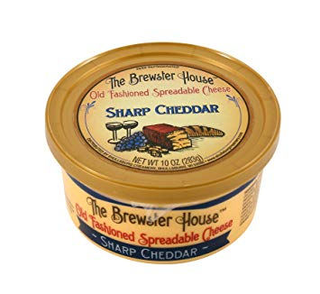 Sharp Cheddar Cheese Spread  by Brewster House
