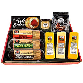 Wisconsin's Best and Wisconsin Cheese Company's Ultimate Gift Basket