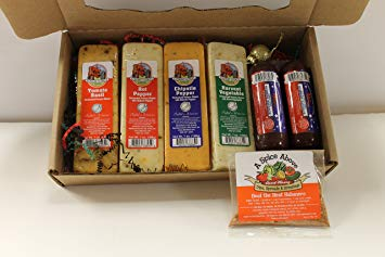 Gourmet Wisconsin Spicy Gift Box by Merchandise Unlimited